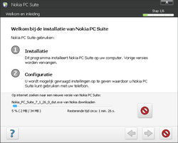 Nokia E72 - Software - PC-software installeren - Stap 4