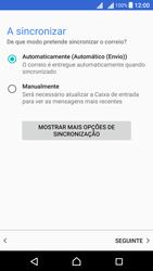 Sony Xperia X Dual SIM (F5122) - Email - Adicionar conta de email -  13