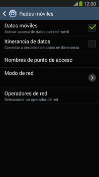 Samsung Galaxy Note 3 - Red - Seleccionar el tipo de red - Paso 6