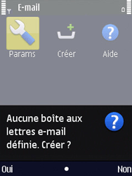 Nokia N86 - E-mail - Configuration manuelle - Étape 5