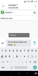Alcatel 1X - Contact, Appels, SMS/MMS - Envoyer un MMS - Étape 12