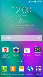 Samsung A500FU Galaxy A5 - Red - Seleccionar el tipo de red - Paso 1