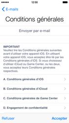 Apple iPhone 5c (iOS 8) - Premiers pas - Créer un compte - Étape 30