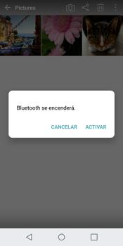 LG G6 - Bluetooth - Transferir archivos a través de Bluetooth - Paso 10