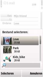 Nokia 5230 - E-mail - hoe te versturen - Stap 13