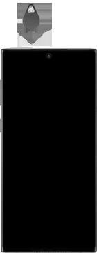 Samsung galaxy-note-10-dual-sim-sm-n970f - Instellingen aanpassen - SIM-Kaart plaatsen - Stap 2