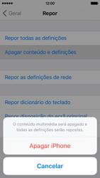 Apple iPhone 5s iOS 9 - Repor definições - Repor definições de fábrica do telemóvel -  7