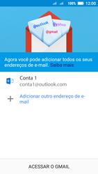 Lenovo Vibe C2 - Email - Como configurar seu celular para receber e enviar e-mails - Etapa 12