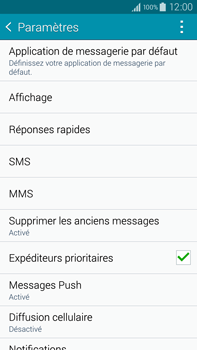Samsung N910F Galaxy Note 4 - SMS - configuration manuelle - Étape 6
