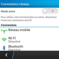 BlackBerry Q5 - Internet - activer ou désactiver - Étape 5