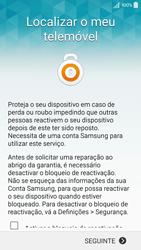 Samsung Galaxy A5 - Primeiros passos - Como ligar o telemóvel pela primeira vez -  15