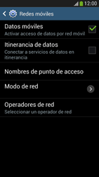 Samsung Galaxy S4 Mini - Internet - Configurar Internet - Paso 6