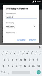Nokia 5 (TA-1024) - WiFi - Mobiele hotspot instellen - Stap 7