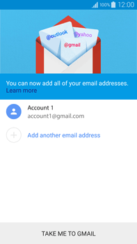 Samsung N910F Galaxy Note 4 - E-mail - Manual configuration (gmail) - Step 14