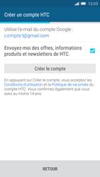 HTC One M9 - Premiers pas - Créer un compte - Étape 23