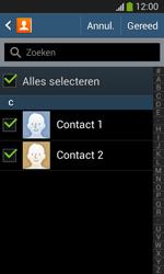 Samsung I8200N Galaxy S III Mini VE - Contacten en data - Contacten kopiëren van toestel naar SIM - Stap 8