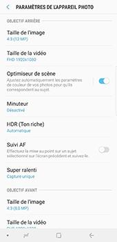 Samsung Galaxy Note 9 - Photos, vidéos, musique - Créer une vidéo - Étape 9