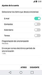 LG K10 (2017) - E-mail - Configurar Outlook.com - Paso 8