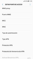 Samsung Galaxy S6 - Android Nougat - Mensajería - Configurar el equipo para mensajes multimedia - Paso 11
