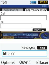 Samsung S5610 Primo - Internet - navigation sur Internet - Étape 13