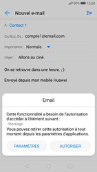 Huawei P10 - Android Oreo - E-mail - envoyer un e-mail - Étape 11