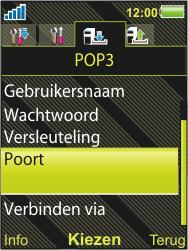 Sony Ericsson W995 - E-mail - handmatig instellen - Stap 14