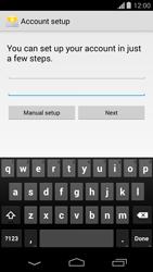 Motorola Moto G - Email - Manual configuration - Step 6