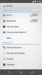 Sony Xperia Z1 - Funciones básicas - Activar o desactivar el modo avión - Paso 4