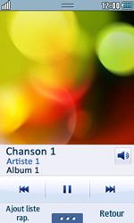 Samsung Wave 723 - Photos, vidéos, musique - Ecouter de la musique - Étape 5