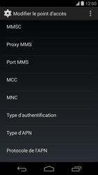LG D821 Google Nexus 5 - Internet - configuration manuelle - Étape 15