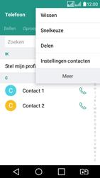 LG K4 (2017) (LG-M160) - Contacten en data - Contacten overzetten via Bluetooth - Stap 6