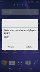 Sony Xperia E3 - MMS - configuration automatique - Étape 7