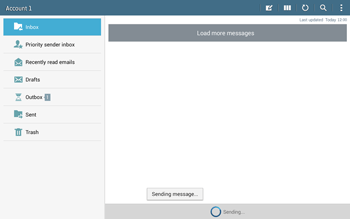 Samsung T535 Galaxy Tab 4 10-1 - Email - Sending an email message - Step 19