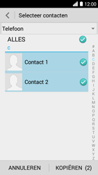 Huawei Ascend Y530 (Model Y530-U00) - Contacten en data - Contacten kopiëren van toestel naar SIM - Stap 8