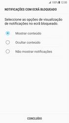 Samsung Galaxy S7 - Android Nougat - Segurança - Como ativar o código de bloqueio do ecrã -  11