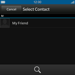 BlackBerry Q10 - MMS - Sending pictures - Step 5
