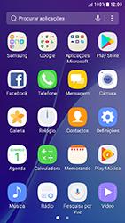 Samsung Galaxy A3 (2016) - Android Nougat - Segurança - Como ativar o código de bloqueio do ecrã -  3