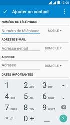 Wiko Rainbow Lite 4G - Contact, Appels, SMS/MMS - Ajouter un contact - Étape 5