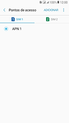 Samsung Galaxy J2 Prime - Internet (APN) - Como configurar a internet do seu aparelho (APN Nextel) - Etapa 10
