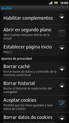 Sony Xperia U - Internet - Configurar Internet - Paso 20