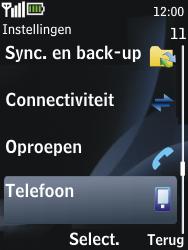 Nokia 2730 classic - Bellen - in het buitenland - Stap 4