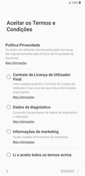 Samsung Galaxy Note9 - Primeiros passos - Como ligar o telemóvel pela primeira vez -  7