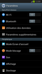 Samsung Galaxy Note 2 - Aller plus loin - Désactiver les données à l'étranger - Étape 4