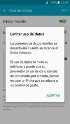 Samsung Galaxy S6 - Internet - Ver uso de datos - Paso 8