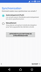 Sony Xperia X - Android Nougat - E-mail - Configuration manuelle - Étape 20
