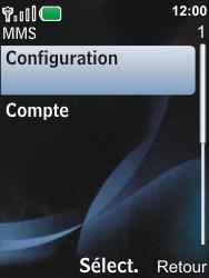 Nokia 6600i slide - MMS - Configuration automatique - Étape 10