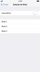 Apple iPhone 7 - iOS 12 - Rede móvel - Como selecionar o tipo de rede adequada - Etapa 6