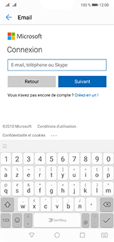 Huawei P20 Lite - E-mail - 032c. Email wizard - Outlook - Étape 7