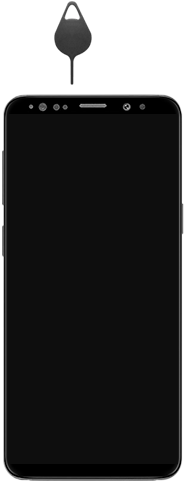 Samsung Galaxy S9 - Premiers pas - Insérer la carte SIM - Étape 2