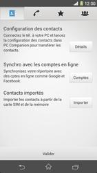 Sony Xpéria Z1 - Contact, Appels, SMS/MMS - Ajouter un contact - Étape 4